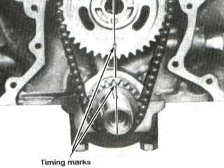 Timing mark alignment