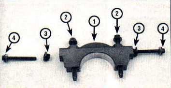 Main bearing cap SOHC engines